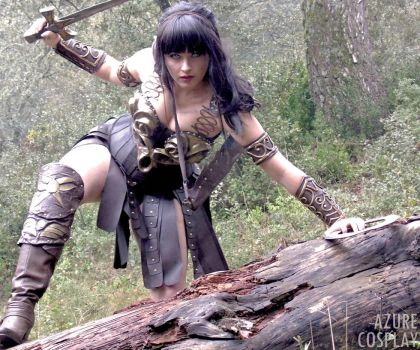 Xena - The Warrior Princess -  by Azure Cosplay by AzureBluevision