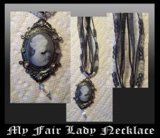 my fair lady necklace by Fallonkyra