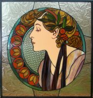 Mucha window :: Laurel by Avogel57