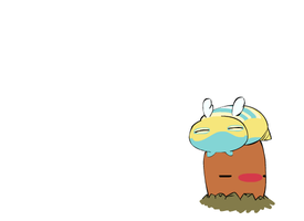 Dunsparce and Diglett by Dunsparce-is-best