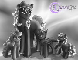 Briar Rose Family sketch by FlyingPony