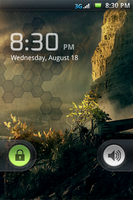 Moto CLIQ Lock Screen by SKYsnd
