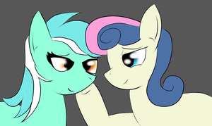 Lyra and bon bon best friends by nanigato32