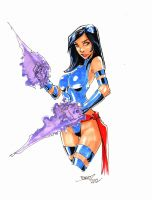Psylocke for jasonbeam by rantz