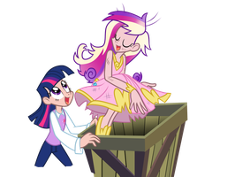 CWAS: Oh, Shining Armor by Trinityinyang