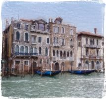 Along the Gran Canale by rhipster