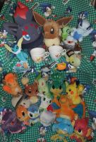 Pokemon Plushies, Pokedolls, and stuff for sale by SEGAMew