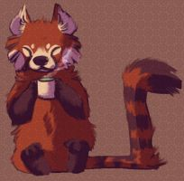 PANDA TEA by KaceyMeg