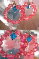 Pinkie Pie Inspired Earrings by Smilliface
