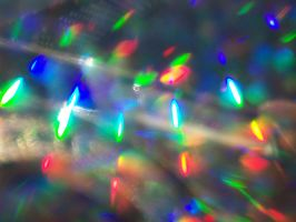 Scattered Hollographic Bokeh by powerpuffjazz