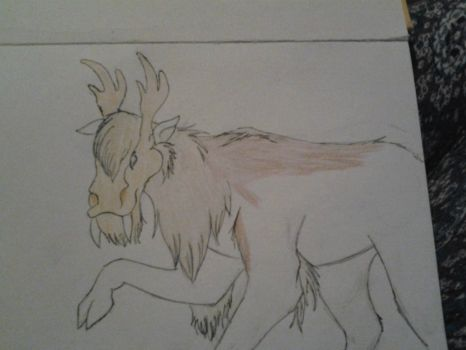 wip, deer/moose thingy..... by AkeraBronzpaw