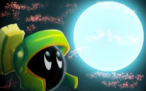 Marvin Martian by lionheartslayerX