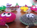 Felt Key Chains by Bitsylot