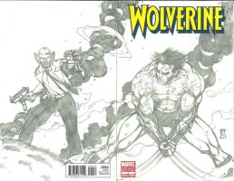 Wolverine 1 Sketch Cover by Ace-Continuado