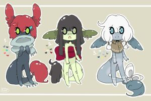 Sugar Babies ~ Set 4 (Closed) by LunarAdopts
