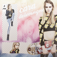 Cara Delevingne PNG Pack by alwayssleep