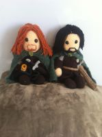 Boromir and Aragorn by Just-Add-Awesome