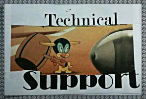 Technical Support by devinemrs