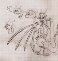 dragon. young by pauladrag17