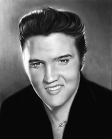 Elvis drawing by Toozies