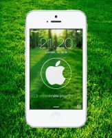 Nature Circle Apple logo wallpaper by kamen911
