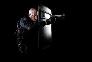 LAPD SWAT Officer by D-Signz