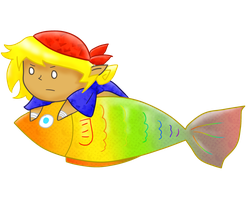 Kiriban Prize: Candy!Trout by Ask-SugarRushRed