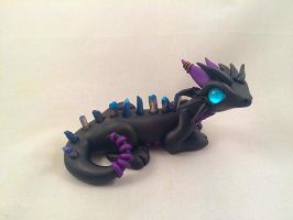 Borealis Dragon by HereThereBeSculpture