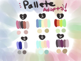 Pallete Adopts (CLOSED) by PandDoodle