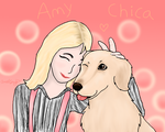 Amy and Chica by Ariasong7