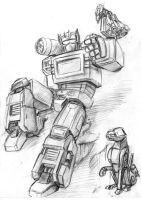 Soundwave and company by kleeng