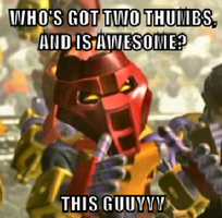 Two-Thumbs Matoran Meme by Silver-Wolf-17