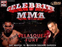 Celebrity MMA Velasquez Vs Fury by 1492ANDIBLAIR