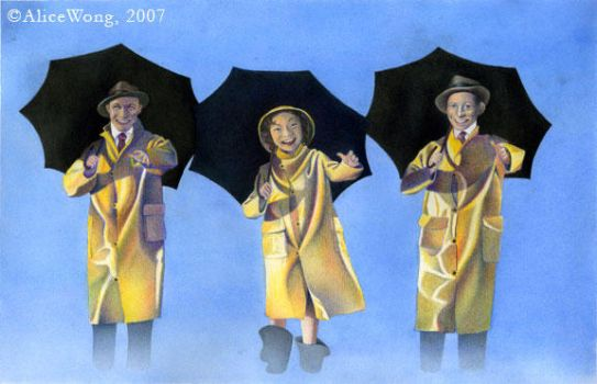 Singin' in the Rain by Alwong