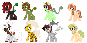 My characters [PART2] by Aquamarine-Rubie