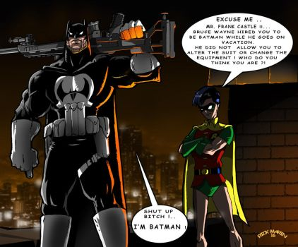 Substitute in Gotham by Misterho