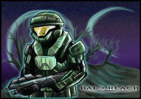 Halo reach: spartan by kovat