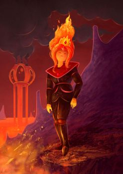 Flame princess by RicardCendra