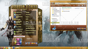 Tema Windows 7: ASSASSINS CREED by ToxicoSM