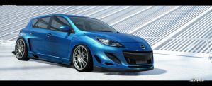 Mazda 3 Time Attack Clean by Saporita