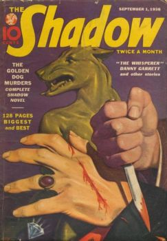 The Shadow - The Golden Dog Murders cover by SavageScribe