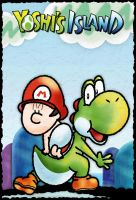 Yoshi and Baby Mario by Shinnizly
