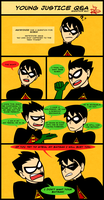 YJ Q and A- Robin Again Again by AnArtistCalledRed