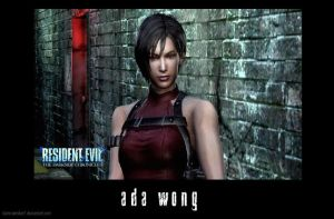 Ada Wong ScreenShot by Claire-Wesker1