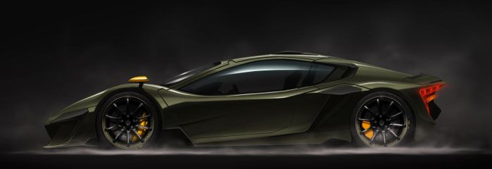 unnamed concept car by Rotr8