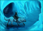 Unali Contest -  Ice Maze Cave by TahkiBK