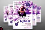 Ladies Night Flyer Template V6 by Thats-Design