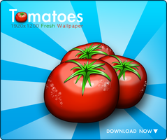 Tomatoes by Flarup