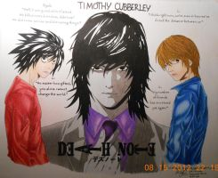 Death Note Farewell by LCMorganTDA