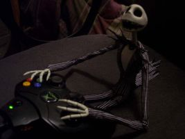 Jack playing Xbox Live by generalbrievous